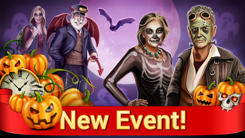 HALLOWEEN HAS ARRIVED IN HOUSE SECRETS!