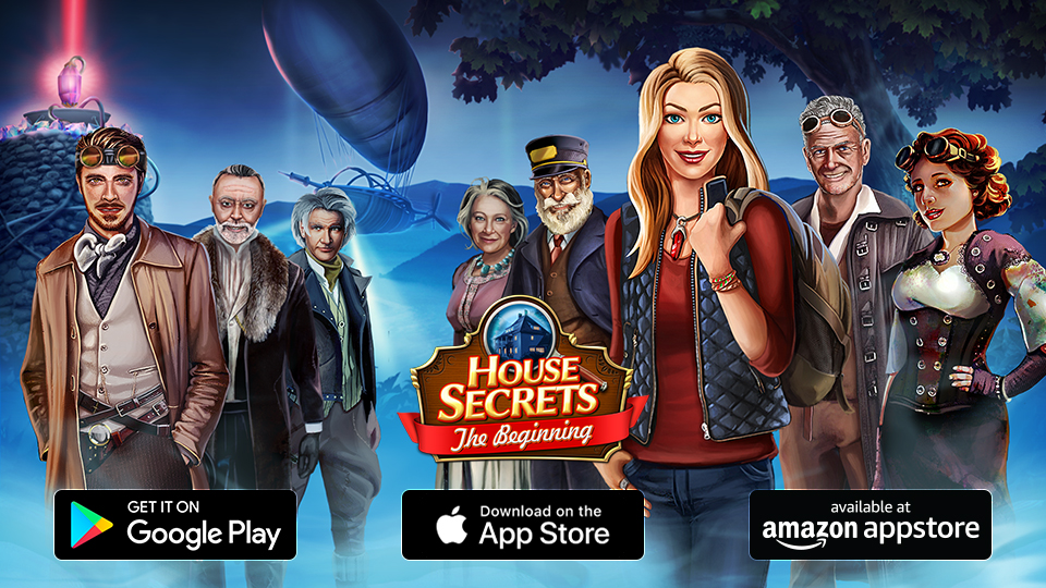 HOUSE SECRETS NOW AVAILABLE ON APP STORE!